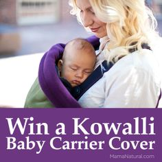Win a Kowalli #babywearing cover at http://MamaNatural.com