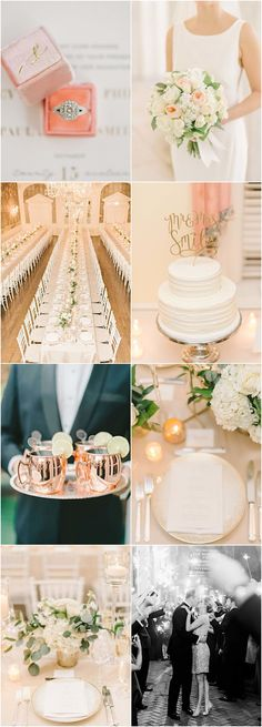 chic gold and white wedding reception idea Mod Wedding, Floral Wedding, Wedding Reception, Dream Wedding, Reception Ideas, Wedding Things, Dc Weddings, Romantic Weddings, Rose And Lily Bouquet
