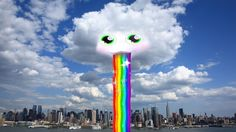 #Snapchat will soon make real clouds vomit rainbows. (see more on www.Quertime.com)