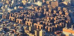 Stuyvesant Town–Peter Cooper Village - Post World War II housing development Manhattan style versus developments like Levitttown on Long Island.