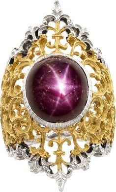 Buccellati Star Ruby, Gold Ring
