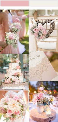 Wedding Trends Pretty In Pink Wedding Color for 2017 Fashion Trend - Take a look at this cute laser cut wedding invites and you will definitely love it. It is perfect wedding invites for vintage weddings and elelgant weddings. Vintage Wedding Colors, Pink Wedding Colors, Wedding Color Schemes, Vintage Weddings, Trendy Wedding, Perfect Wedding, Rustic Wedding, Dream Wedding, Wedding Goals