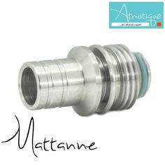 "The ""Mattanne"" is a Hybrid driptip made for Billetbox"