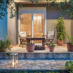 Villas, Patio, Outdoor Decor, Home Decor, Decoration Home, Terrace, Room Decor, Porch, Interior Design