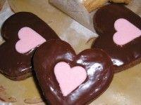 Linecké kakaové srdiečka