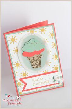 Heiß auf Eis {kleine Vorschau auf die neuen Stampin' Up Produkte}   Kuchenduft & Kinderlachen