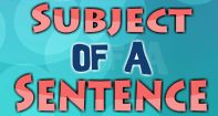 This video clearly explains the importance of subject of a sentence. The subject is the person or thing (object) that the sentence is about, and the video explicitly