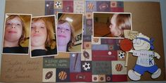 In My World . . .: Paper Piecing: Basketball Boy