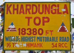 Khardungla - world's highest motorable road at 18380 ft - here can be found a lot of native herbs that are found in the highest parts of the country in Australia as well. . . in the Tasmanian Highlands in particularly. . not a lot, one has to go further up the valley this pass goes over to get to abundance of herbs...