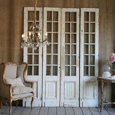 DIY.... Shabby Repurposed Door Wall Decor