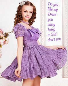 posts of Feminine Feelings to have fun with Girly Girl Outfits, Cute Little Girl Dresses, Cute Outfits, Frilly Dresses, Lovely Dresses, Girls Dresses, Petticoated Boys, Feminized Boys, Transgender Girls