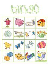 Plaatjes bingo | Thema LENTE
