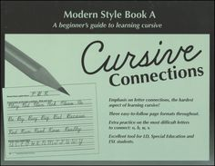 Cursive Connections - Modern Style Book A