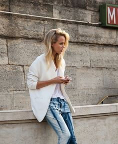Still looking for a perfect white blazer!