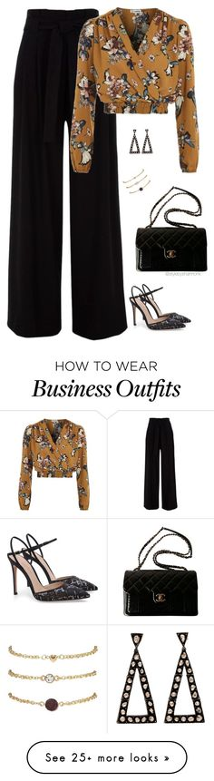 """Work Wear"" by stylebyshannonk on Polyvore featuring Love and Chanel"