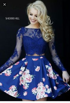 #Dress #blue #sherrihill