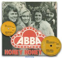 "On the 4th November 1974 Abba's single ""Honey Honey"" entered the Australian singles chart where it stayed for 19 weeks reaching number 30. #Abba #Agnetha #Frida #Vinyl http://abbafansblog.blogspot.co.uk/2016/11/abba-date-4th-november-1974.html"