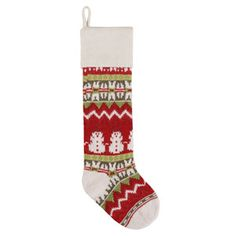 Look what I found on Red & Green Snowman Knit Stocking Knit Stockings, Knitted Christmas Stockings, Christmas Knitting, Real Christmas Tree, Christmas Crafts, Christmas Decorations, Christmas Stocking Hangers, Stocking Holders, Holiday Wreaths