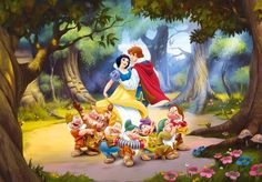 628 best snow white and the seven dwarfs printables images on