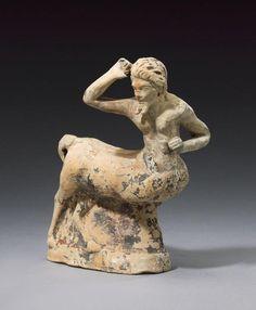 Hellenistic Terracotta Centaur, Circa 2nd Century BC