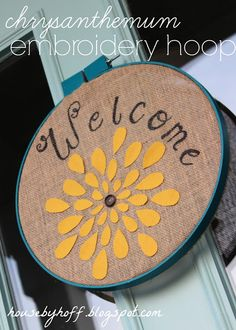 Fun front-door décor for late summer/fall!