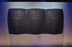Tesla's Powerwall home battery comes in these lickable colors | The Verge