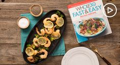 Sheet Pan Shrimp With Sesame Broccoli Recipe - Thrive Market