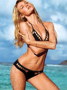 Very Sexy Cutout Hipkini Bottom   swimsuit, bikini, black, beach, VS #proshopaholic