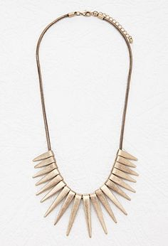 Triangle Statement Necklace | Forever 21 - 1000162251