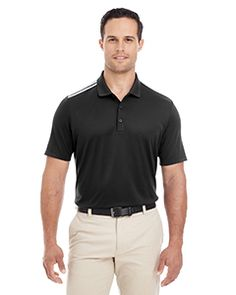 SKU is Buy adidas Men's Golf Shoulder Polo at best price from our wide range of Polos for Men. Adidas Golf, Adidas Men, Womens Golf Wear, Ladies Golf Bags, Custom Tees, Sports Shirts, Black Adidas, Wholesale Clothing, Black Men
