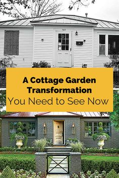 Cottage Garden Transformation | This Arkansas home and garden prove you don't need a mansion to live big.