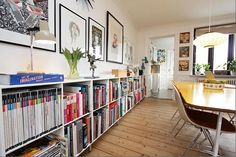 so bright, i like the books and wall art
