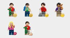 Lego The Big Bang Theory Stickers Set | Telegram Stickers