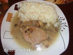 Fotorecept: Mäso na šampiňónoch