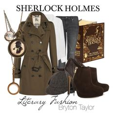 Literary Fashion | Sherlock Holmes via BrytonTaylor.com Cute! (Heels are a bit high though...)