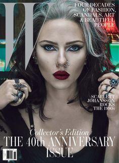 W November 2012, Scarlett Johansson