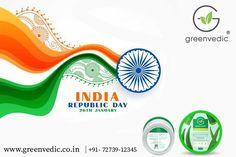 GreenVedic Wishing you and your family a Happy Republic Day 2021! Ayurvedic Hair Oil, Republic Day, Fall Hair, Happy, Green, Hair Falling Out, Fall Hairstyles, Ser Feliz, Hair Loss