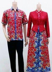 Jual Baju Batik Muslim Gamis Terbaru Januari 2016