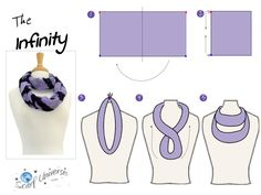 The Infinity Knot, Scarf Universe, scarf tying