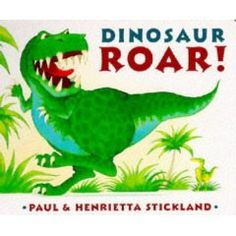 The premise is simple, using 2 different dinosaurs every page illustrates a pair of opposites.