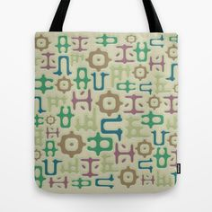 Reusable Tote Bags, Bright