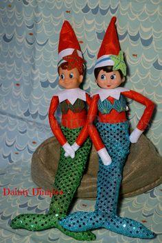Elf Mermaid Costume Elf clothes Elf Mermaid by DaintyDimples