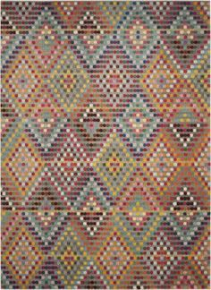 Buy the Safavieh Multi / Beige Direct. Shop for the Safavieh Multi / Beige Monaco X Rectangle Synthetic Power Loomed Contemporary Area Rug and save.