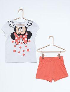 Pijama corto 'Minnie Mouse'                                                                                         blanco Chica