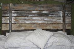 Rustic Wood Headboard by Reclaimvintagecharm on Etsy, $150.00