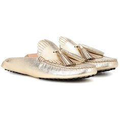 Disco Kitty slippers - Metallic Charlotte Olympia