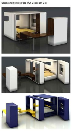 Fold-Out Bedroom Box