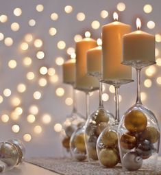 Wonderful Ever New Years Eve Decoration For Your Home. ing are the Ever New Years Eve Decoration For Your Home. This post about Ever New Years Eve Decoration For Your Home was posted under the category by our team at March 2019 at pm. Hope you enjoy . Deco Nouvel An, New Year Table, New Years Eve Table Setting, Wine Glass Candle Holder, Glass Holders, Wine Bottle Candles, Glass Bottle, Deco Table Noel, Christmas Table Centerpieces