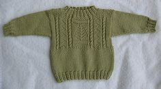 Ravelry: Little Pine Gansey pattern by Jacquelyn Jarboe (Free) Baby Patterns, Knitting Patterns Free, Knit Patterns, Free Knitting, Free Pattern, Knitting For Kids, Crochet For Kids, Crochet Baby, Knit Crochet