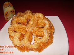 Flores-plato Pan Dulce, Onion Rings, Churros, Recipies, Food And Drink, Cake, Ethnic Recipes, Desserts, Reno